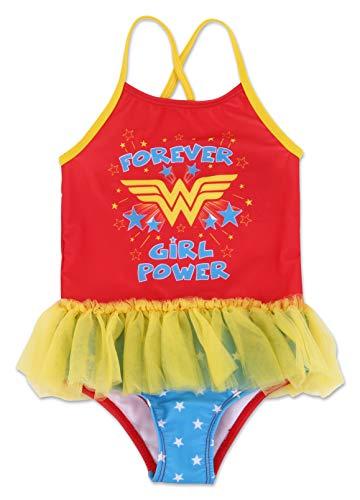 Dreamwave Toddler Girl Wonder Woman One Piece Swimsuit 2T