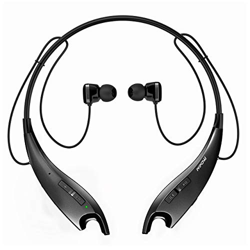 Mpow Jaws Upgraded Gen-3 Bluetooth Headphones for Work from Home, Wireless Neckband Headphones 13H...