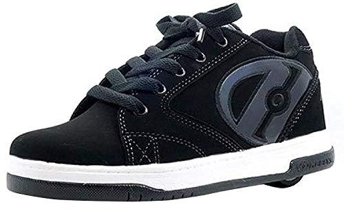 Heelys Propel 2.0 | zapatos con ruedas para niños | Negro, (35 EU)