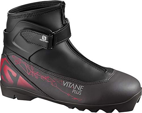 Salomon Botas Nordico Vitane Plus Prolink damskie buty narciarskie, czarny - czarny - 42 EU