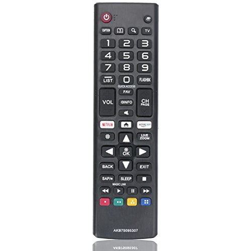New Remote Control AKB75095307 Replacement fit for LG LED LCD TV 43UJ6500 43UJ6560 49UJ6500 49UJ6560 55UJ6520 55UJ6540 55UJ6580 60UJ6540
