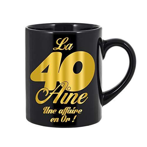 Mug anniversaire géant 40 ans