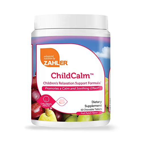 Zahler ChildCalm, Chewable Magnesium Calming and Relaxation Aid for Kids, Children