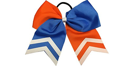 Softball Hair Bows- 6.5' Softball Cheer Bows- Softball Hair Accessories, Softball Player Gift