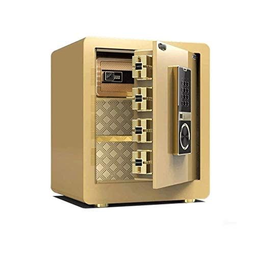 GYDSSH Cajas Fuertes Huellas Dactilares contraseña Armario Oculto antirrobo Fuerte de Acero Hogar Mini Cash Box Pared Cajas Fuertes