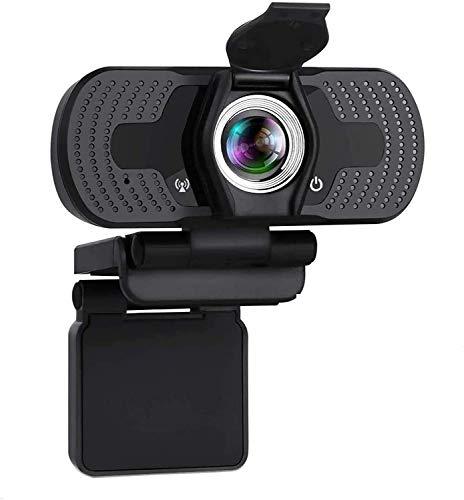 A&I Webcam HD 1080P con microfono, Webcam USB per Live Streaming, Computer Web Camera per PC Mac Laptop, Video Calling Streaming, Conferenze, Giochi, Lezioni online