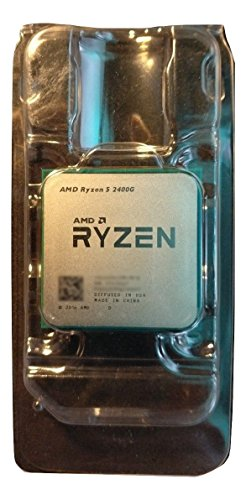 AMD Ryzen 5 2400G - Procesador (AMD Ryzen 5, 3,6 GHz, Zócalo AM4, PC, 14 NM, 2400G)