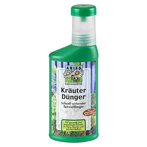 Aries, Kräuterdünger, schnell wirkender Spezialdünger aus pflanzlichen Rohstoffen