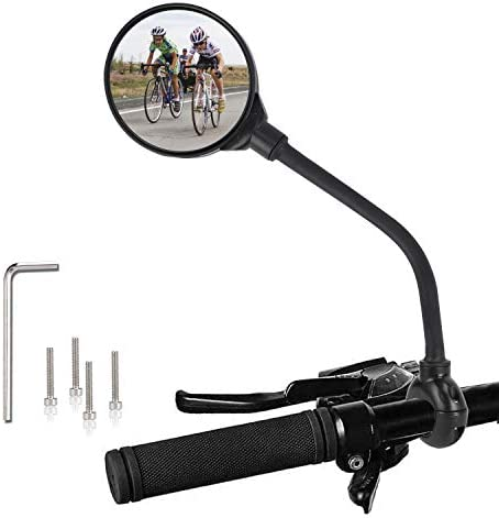 TAGVO Bike Mirror Bicycle Wide Angle Rear View Safe Mirrors 360 Degree Adjustable Rotatable product image