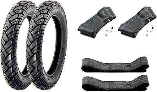 SET 6-teilig VeeRubber Reifen - 3,00 x 12 Zoll - VRM 094-43J - für Simson Roller SR50 SR80