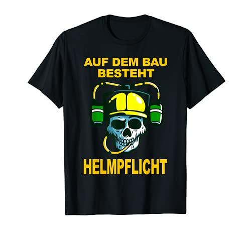Casco de obra de construcción, casco de construcción Camiseta