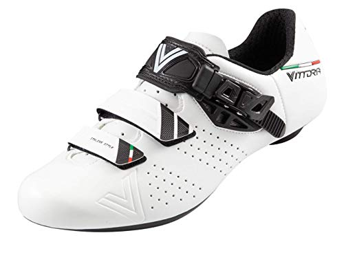 Vittoria Hera Performance Road Cycling Shoes (EU 36, White)