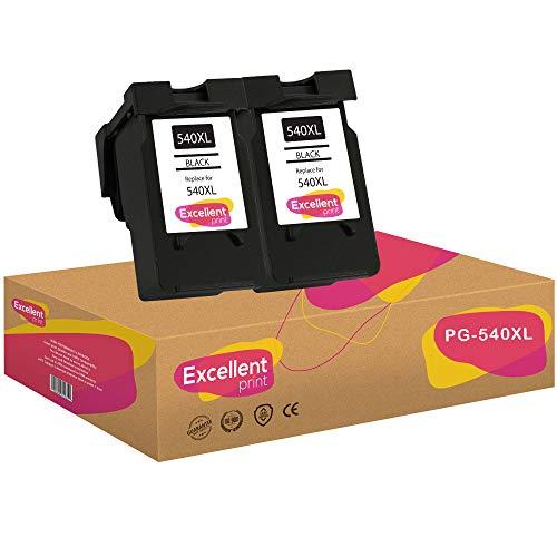 Excellent Print PG-540XL PG-540 Compatible Cartuchos de Tinta para Canon Pixma MG3150 MG3250 MG4250 MG3550