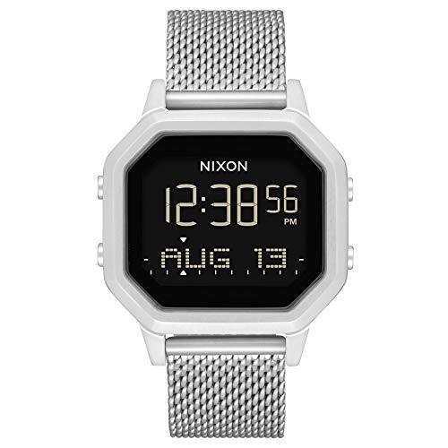 Nixon Reloj Digital para Mujer de Automático Chino con Correa en Acero Inoxidable A1272-1920-00