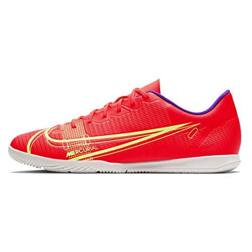 Nike Vapor 14 Club IC, Zapatillas de ftbol Unisex Adulto, BRT Crimson Mtlc Silver Indigo Burst White Rage Green, 46 EU