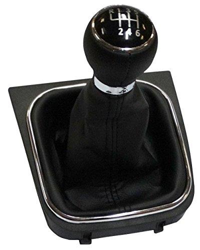 AERZETIX: Pomo, funda y marco para palanca de cambios 6 velocidades para coche, vehiculos C10938