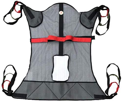 DLLY Voll Karosserie Mesh Patientenlifter Sling Ausrüstung, Für Patientenlifter Heben Übertragen Patientenversorgung Sicherheit Mobilitätshilfen,Black