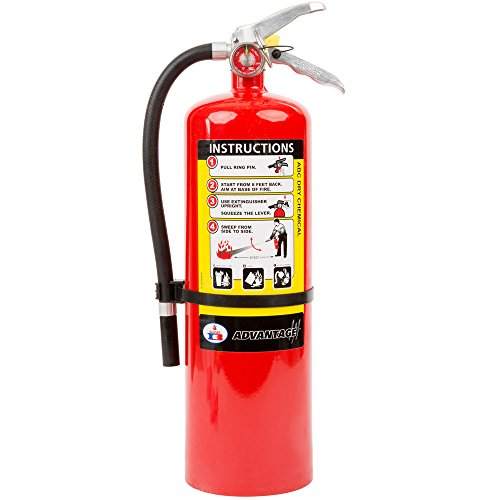 Badger Advantage 10 lb ABC Fire Extinguisher w/ Wall Hook 21007867