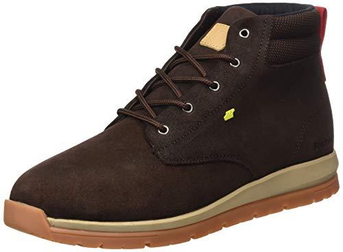 Boxfresh Herren Browndale Sneaker, Braun (Toffee/Lime 794), 45 EU