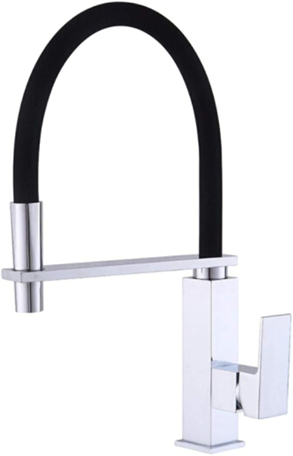 Basin Taps Swivel Spout Faucet Copper Kitchen Faucet Hot and Cold Square Antique Faucet Kitchen Basin Sink Mixing Valve