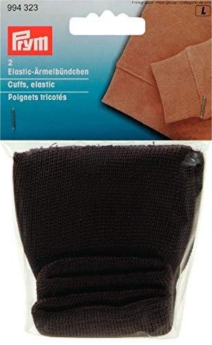 Prym 994323Ärmelbündchen elastisch brun-Carte 2. Polyester Braun 2x 1x 1cm