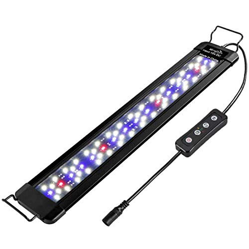 MingDak LED Aquarium Fish Tank Light Fixture,Full Spectrum Lighting for...