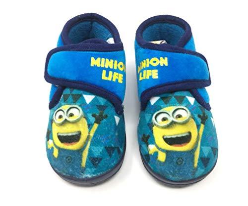 tolle Geschenkidee - warme Kinder Hausschuhe Laufschuhe Schuhe für Jungen Minions (21/22 EU)