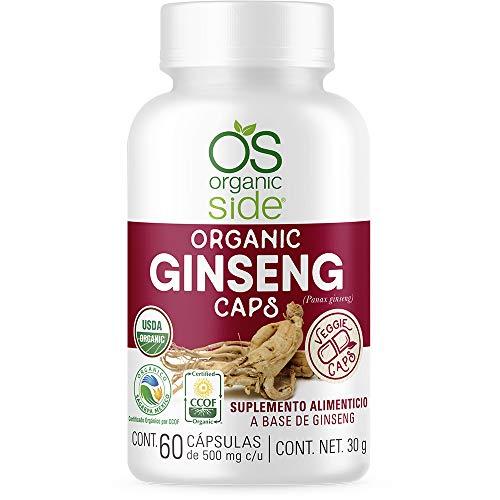 GINSENG ORGANICO 60 CAPSULAS