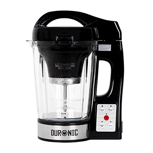 Duronic BL78 elektrischer Standmixer/Suppenbereiter / Babynahrungszubereiter/Thermalmixer und Kochmixer mit 1,2L Glasbehälter – Suppe auf Knopfdruck kreiert - 8