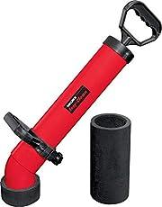 Easy-Clean 170300 A buisreiniger, robuust, beproefd zuig- en drukreinigingsapparaat voor geurafsluitingen, korte en lange manchet