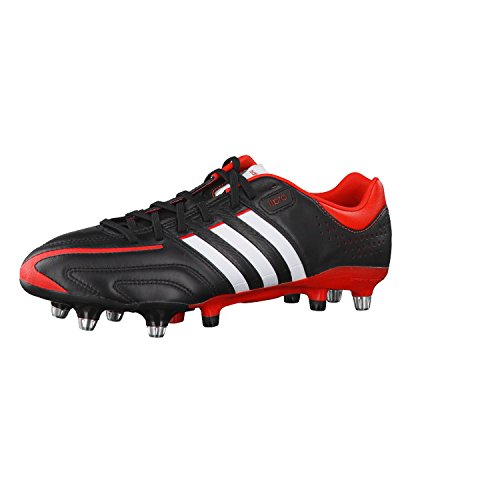 Adidas Fussballschuhe Adipure 11Pro XTRX SG 40 2/3 Black-Hi-Res Red F13-Running White