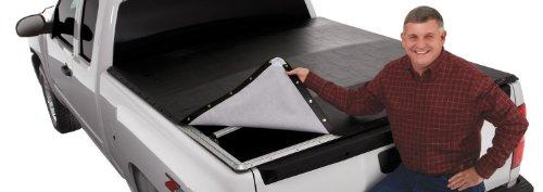 Extang 7605 Classic Platinum Snap Tonneau Cover - fits S10 Stepside 96-03,Black