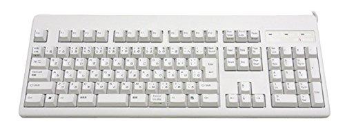 東プレ キーボード REALFORCE108US 日本語配列 USB 有線接続 静電容量無接点方式 昇華印刷 ALL30g ホワイト SJ38D0