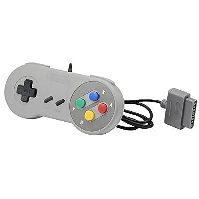QUMOX NEW 16 Bit Controller for Super Nintendo SNES System Console Control Pad Gamepad