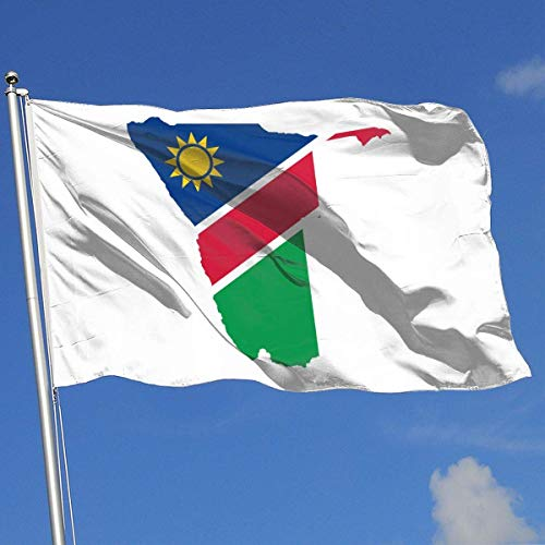 AGnight Flagge Fahnen Banner Namibia Flag Map Flags 3x5 Foot Banner 3X5 Ft Polyester Banner Flags