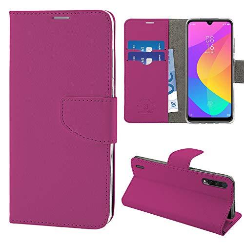 NewTop Cover Compatibile per Xiaomi Mi A3 Lite/9 Lite, HQ Lateral Custodia Libro Flip Magnetica...