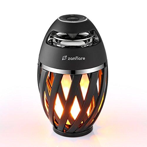 Zanflare LED Flamme Lampe, Nachttischlampe mit Bluetooth...