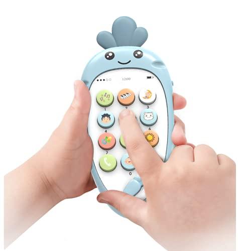 N\C Inteligente Educación Temprana Juguetes Infantiles Simulación Teléfono Móvil Historia Música Aprendizaje Teléfono [Color RAndom]