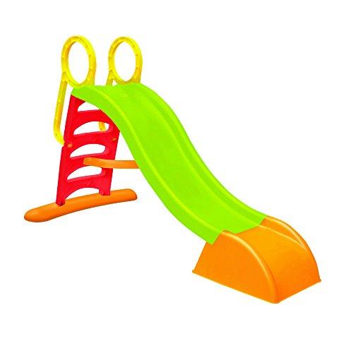 WAC SCIVOLO da Giardino per Bambini Con Innesto Acqua, Struttura in Plastica Composto da 5 Gradini. Dimensioni 180x78x110 cm.