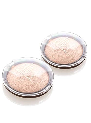Rimmel All Over Glitter Baked Bronzing Powder - 001 Summer Mood