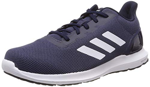 Adidas Cosmic 2, Zapatillas de Running Hombre, Azul (Trace Blue F17/Ftwr White/Legend Ink Trace Blue F17/Ftwr White/Legend Ink), 41 1/3 EU