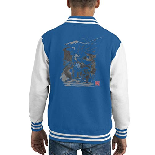 Cloud City 7 Mount Fuji paraplu paar kind Varsity jas