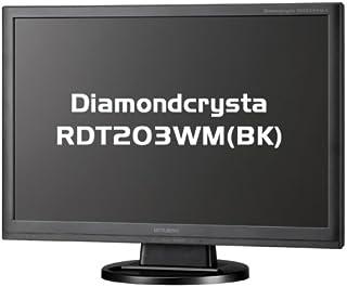 MITSUBISHI ワイド液晶ディスプレイ Diamondcrysta WIDE RDT203WM (BK) ブラック