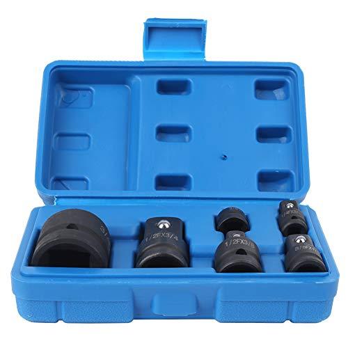 NATRUSS Impact Socket Adapter, rutschfest Einfach zu bedienendes rostfreies Autowerkstattwerkzeug, Wartung Zimmerei Pneumatikwerkzeug für Elektrowerkzeug