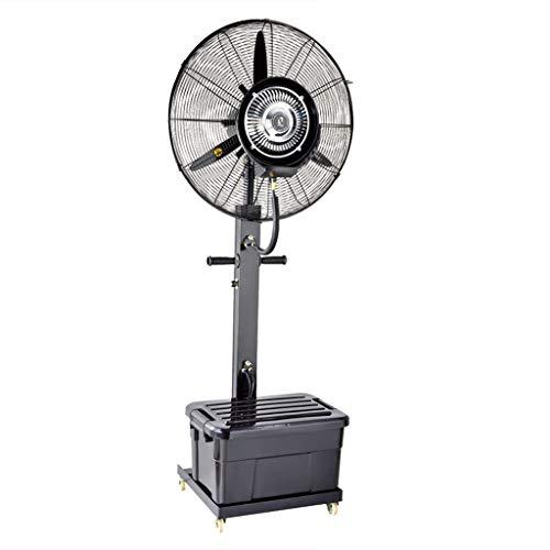 ZRX-Ventilatori Ventilatore a piedistallo Silent Vertical Oscillante Raffreddamento Nebulizzante Spray Umidificatore Outdoor Atomizzazione Industria Commerciale Umidificatore Commerciale 165cm Alto