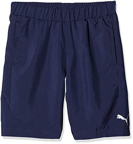 PUMA Jungen Active Sports Woven B Shorts, Peacoat, 164