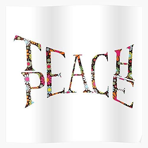 Yoga Student School Teacher Happy Bohemian Teach Cheerful Home Decor Wall Art Print Poster !