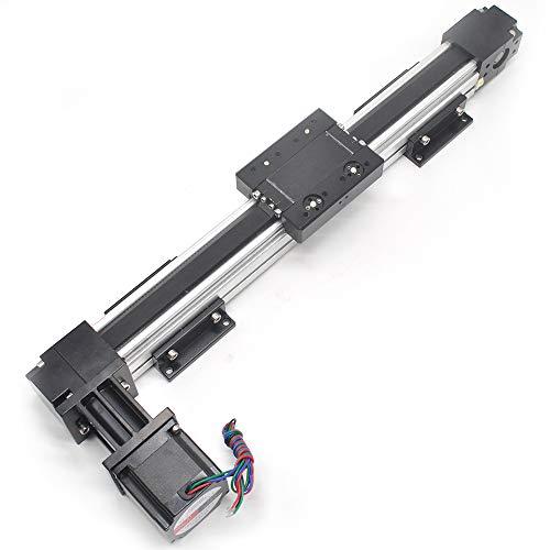 Belt Drive Motorized Linear Stage Actuator 600MM Fast Linear Motion Slide Rails for CNC Linear Position Kit