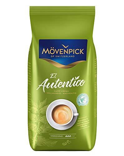 Mövenpick CAFFÈ CREMA EL AUTENTICO ganze Bohnen 4x 1000g (4000g) - ARABICA mit Robusta