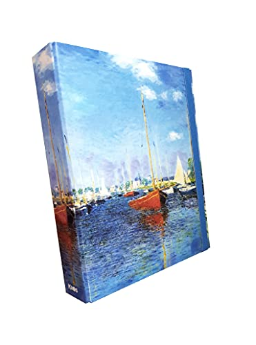Portaprogetti KAOS Dorso 5 'Barche Rosse' - Monet